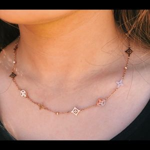 Rose Gold Plated Luxury Clover Design Necklace